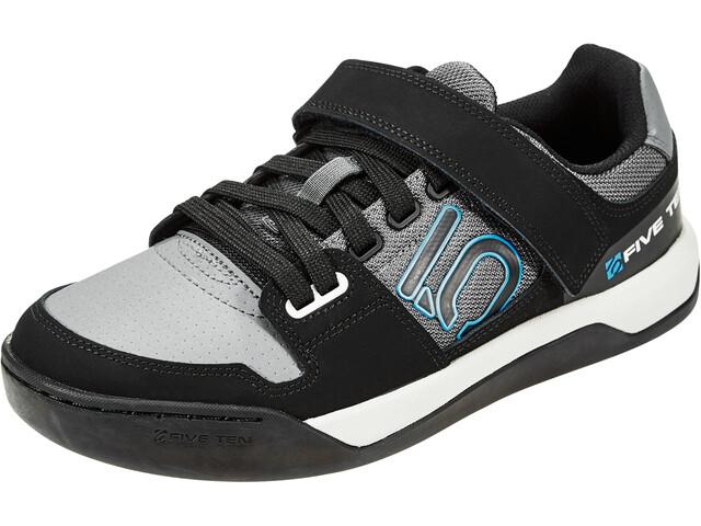 adidas Five Ten Hellcat Scarpe Donna, grey five/core black/shock cyan